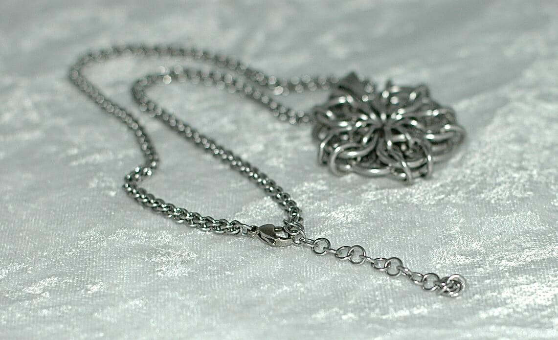 Celtic Flower Choker Necklace - Anne Gregory, LLC