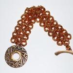 Sunburst Bronze Bracelet