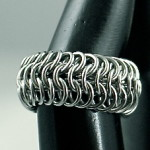 Stainless Steel Chain Mail Ring