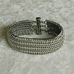 Stainless Steel Chain Mail Bracelet
