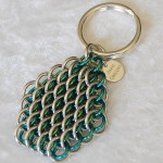 Signature Dragonscale Key Ring