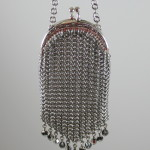 Silver Mesh Chain Mail Coin Purse