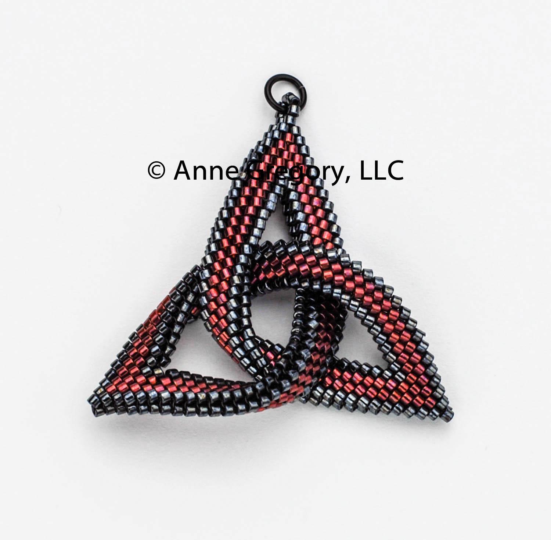 Celtic knot beaded pendants anne gregory llc celtic knot beaded pendants aloadofball Images