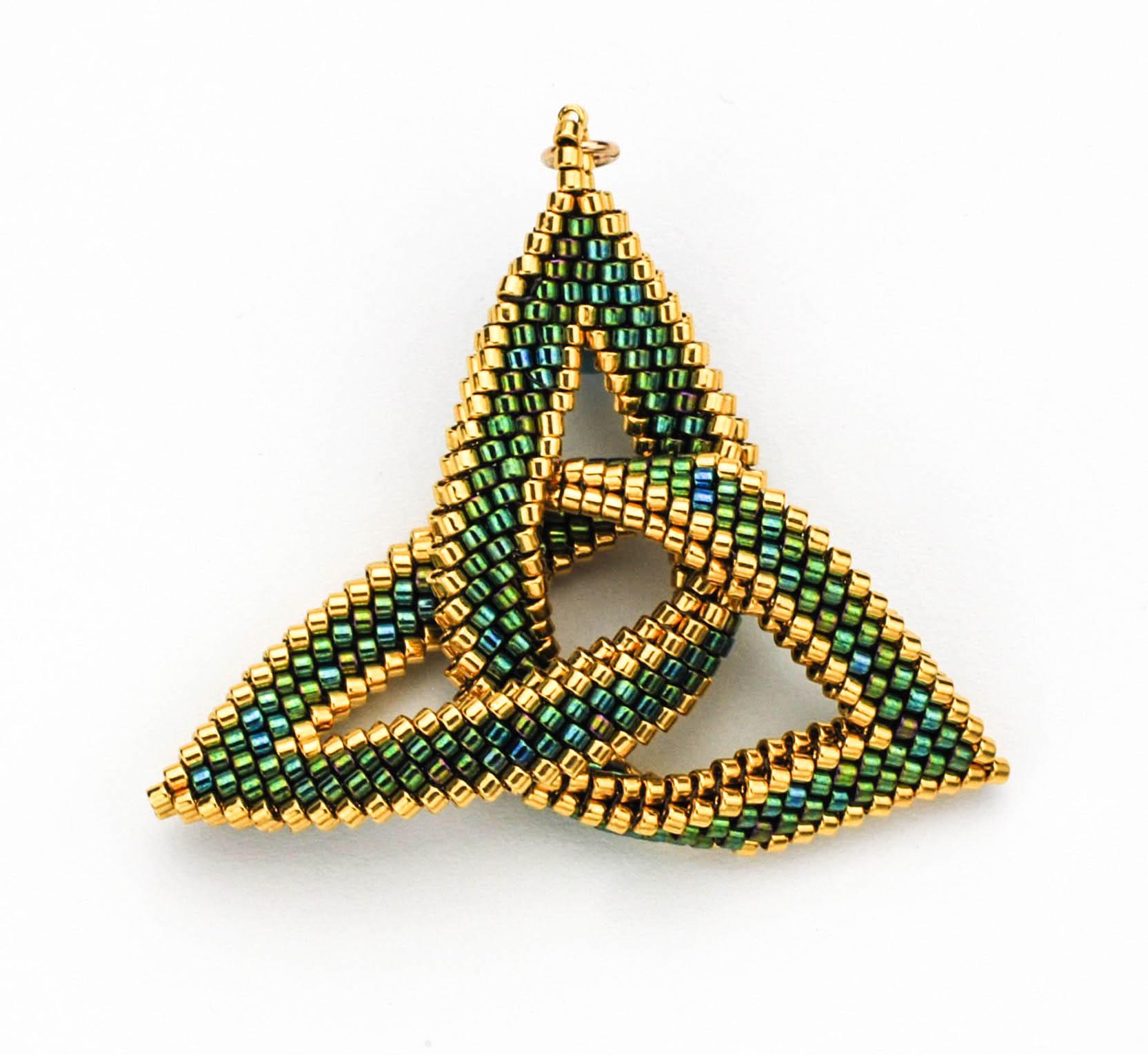 Celtic knot beaded pendants anne gregory llc celtic knot beaded pendants mozeypictures Choice Image