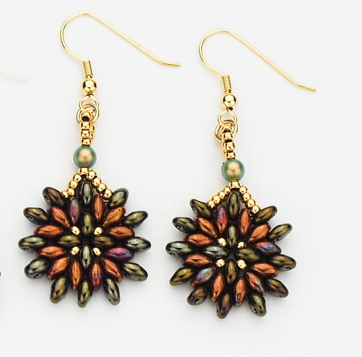 Spanish Oyster Earrings